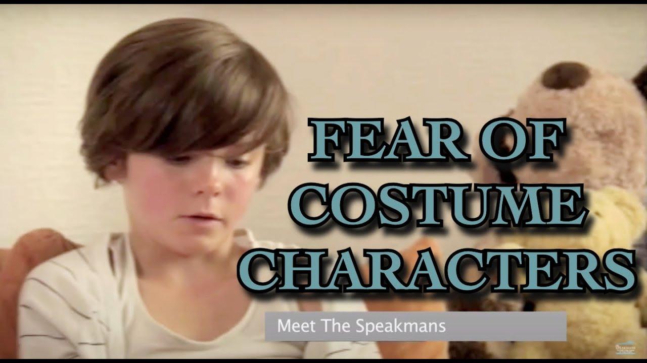 Costume Characters Phobia (Masklophobia) I The Speakmans