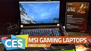 MSI GS75 Stealth, PS63 Modern Gaming Laptops First Look
