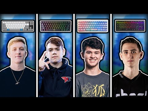 What Keyboard The Top 25 Highest Earning Fortnite Players Use!