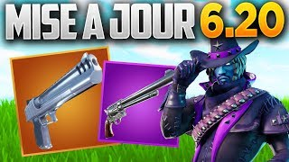 "UPDATE 6.20 ""Nightmares"" EVENT - REVOLVER DE RETOUR! (Fortnite Patch Note 6.20)"