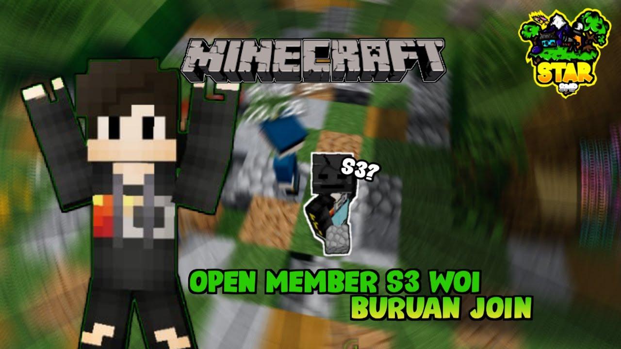 OPEN MEMBER S3 | Minecraft - YouTube
