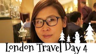 黑咪Travel | 搭直昇機 + 搭Open Top Bus + 去Claridges食High Tea London Travel Day 4