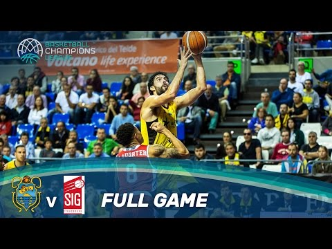 Iberostar Tenerife v SIG Strasbourg - Full Game - Basketball Champions League