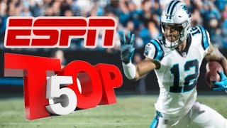 ESPN Ranks Carolina Panthers Top 5 In Offensive Weapons