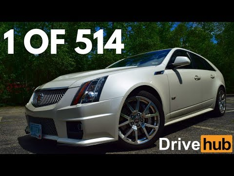 6-Speed Cadillac CTS-V Wagon Review *1 of 514 Built!