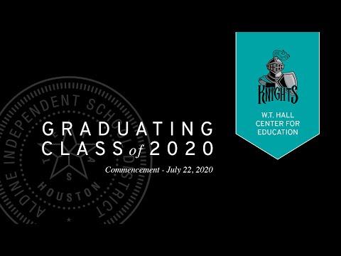 Hall Center for Education | Virtual Graduation 2020