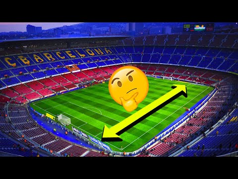 Is Camp Nou Actually The Biggest Pitch In The World? - Oh My Goal