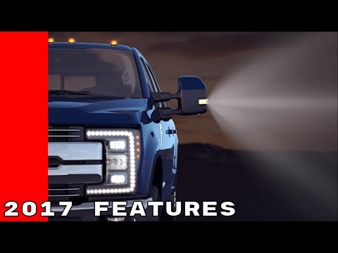 2017 Ford Truck LED Lighting, Upfitter Switches, Power Telescoping Mirrors