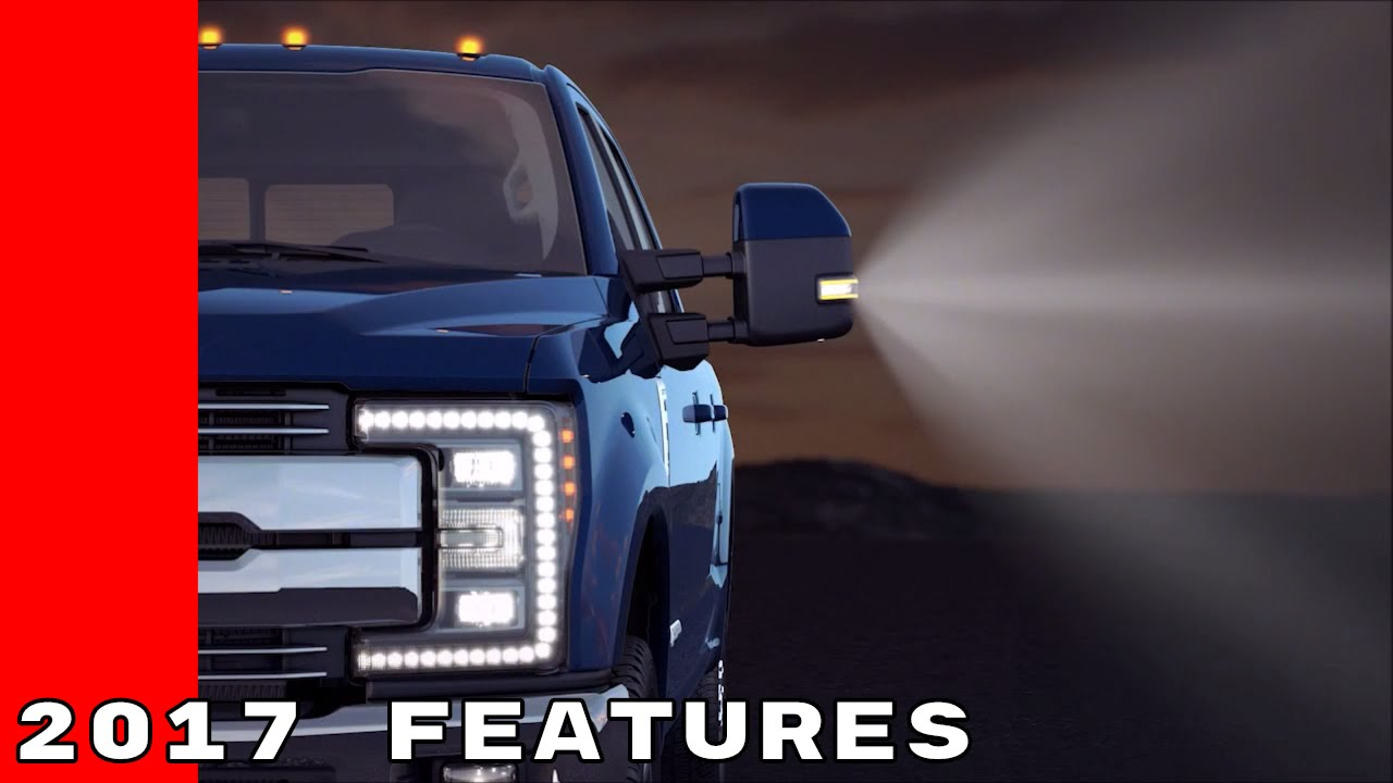 2017 Ford Truck LED Lighting, Upfitter Switches, Power Telescoping Mirrors  YouTube
