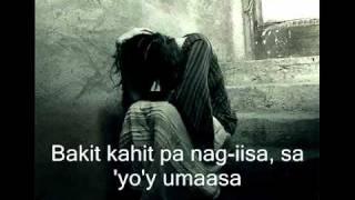 hindi ko kayang iwan ka lyrics