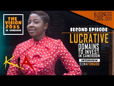 SUNJO KiA | Business | EP02 | Lucrative Domains To Invest In Cameroon