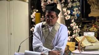 Ks. Piotr Natanek - Kazanie o Tajemnicy Mszy Świętej wg. św. Ojca Pio 18.07.2013