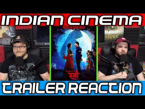 Indian Cinema Trailer Reaction: Stree