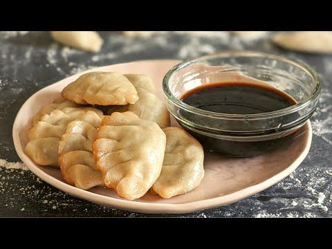 gyoza-végétarien-/-pâte-fait-maison-/-recette-facile