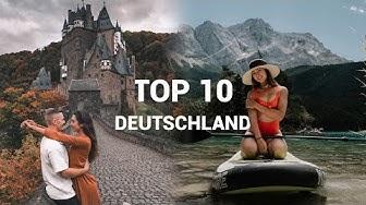 TOP 10 ORTE DEUTSCHLAND die man gesehen haben sollte ∙ Reisetipps & Sehenswürdigkeiten