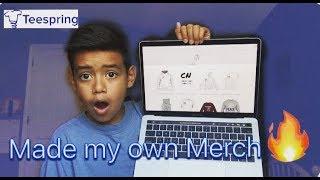 I Finnally Made Merch!!! Go Buy Some (Teespring) thumbnail