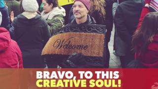 Immigration Ban Protest Art