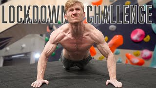 Fitness Challenge for Climbers during Lockdown