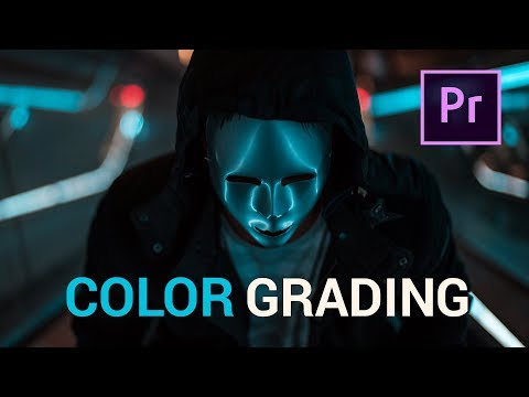 Fast CINEMATIC COLOR GRADING with LUTS - Lumetri
