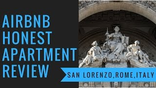 Gambar cover Honest Airbnb Apartment Review - Rome, Italy - ROME 2SUPER BEDS CLIMATE&FREE WIFI