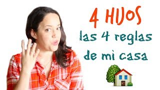 4 reglas para organizar tu hogar, de una mamá de 4