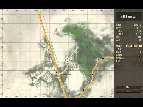 Arma 2 Mortar quick tutorial