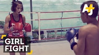 Muay Thai:  Banned From Fighting Boys