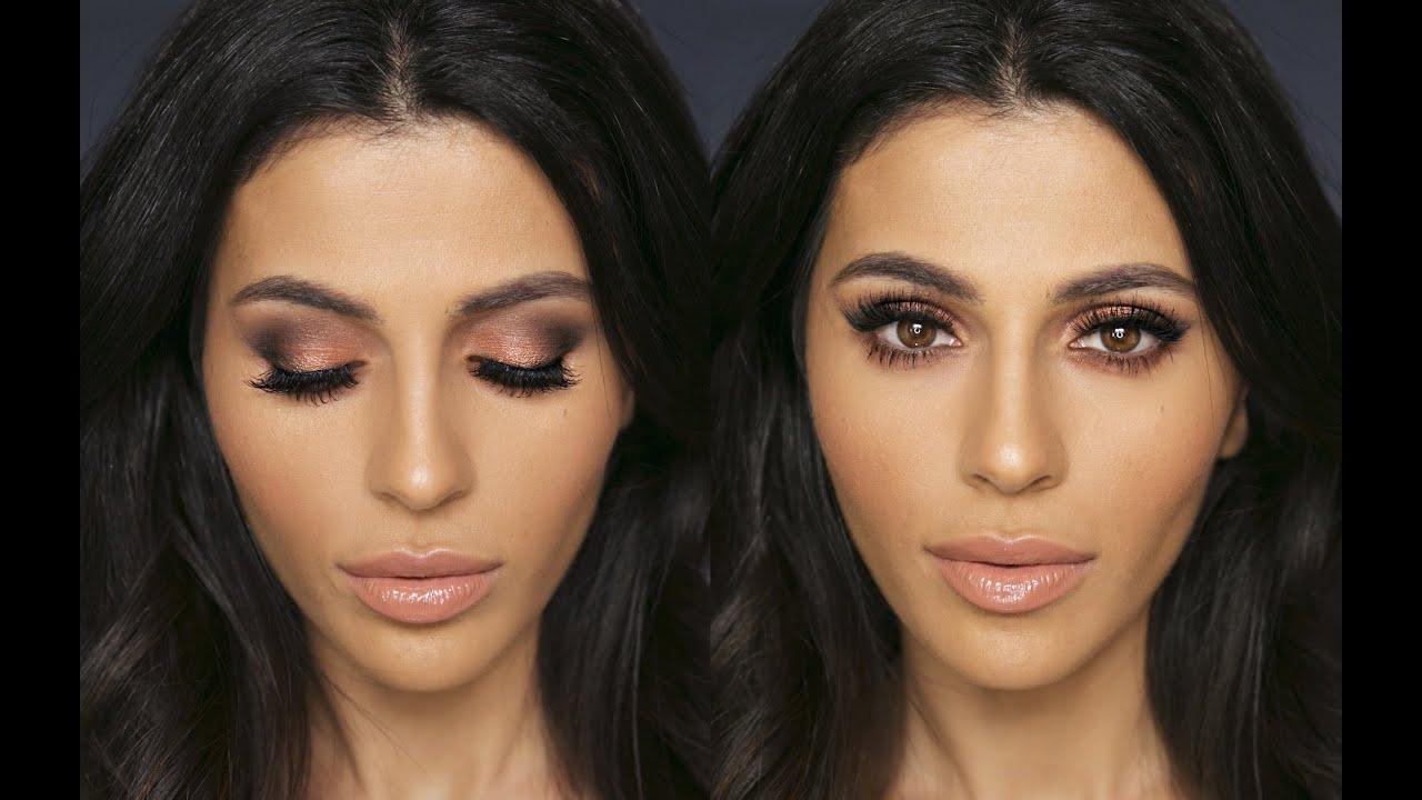 Bridal makeup tutorial makeup tutorial teni panosian youtube - Smokey Eye W Drugstore Makeup Eye Makeup Tutorial Teni Panosian