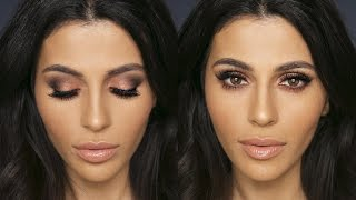 smokey eye w drugstore makeup   eye makeup tutorial   teni panosian