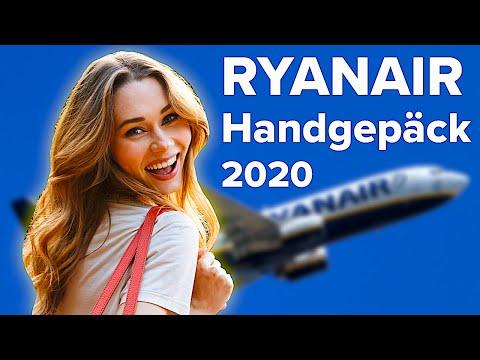 Ryanair Handgepäck 2020: Das müssen Sie wissen