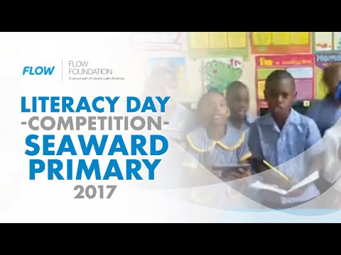 Seaward Primary and Junior High School- Literacy Day competition.