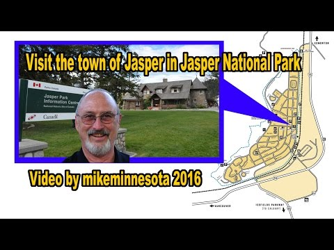 Visit the town of Jasper in Jasper National Park 2016 mikeminnesota