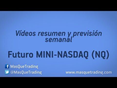 7-10-2013-Trading en español Análisis Semanal Futuro MINI NASDAQ (NQ)