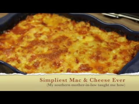 HOW TO BAKE MACARONI And CHEESE | Southern Style Mac & Cheese