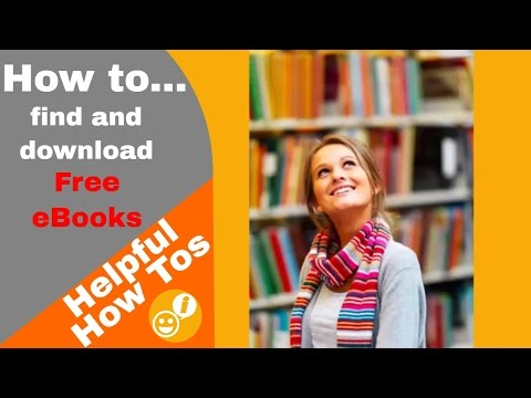 How To Find And Download Free EBooks For E-readers - Amazon - 2017