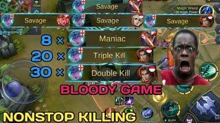 Video 4 SAVAGE   BLOODY GAME   NONSTOP KILLING   MOBILE LEGENDS   MOBILE LEGENDS BANG BANG download MP3, 3GP, MP4, WEBM, AVI, FLV November 2018
