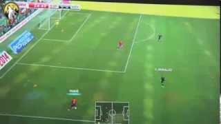 NEW PES 2014   Portugal vs Spain Full Match!!!!!!