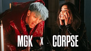 I AM CORPSE! (IN MGK'S MUSIC VIDEO FOR DAYWALKER!) - Behind the Scenes Vlog