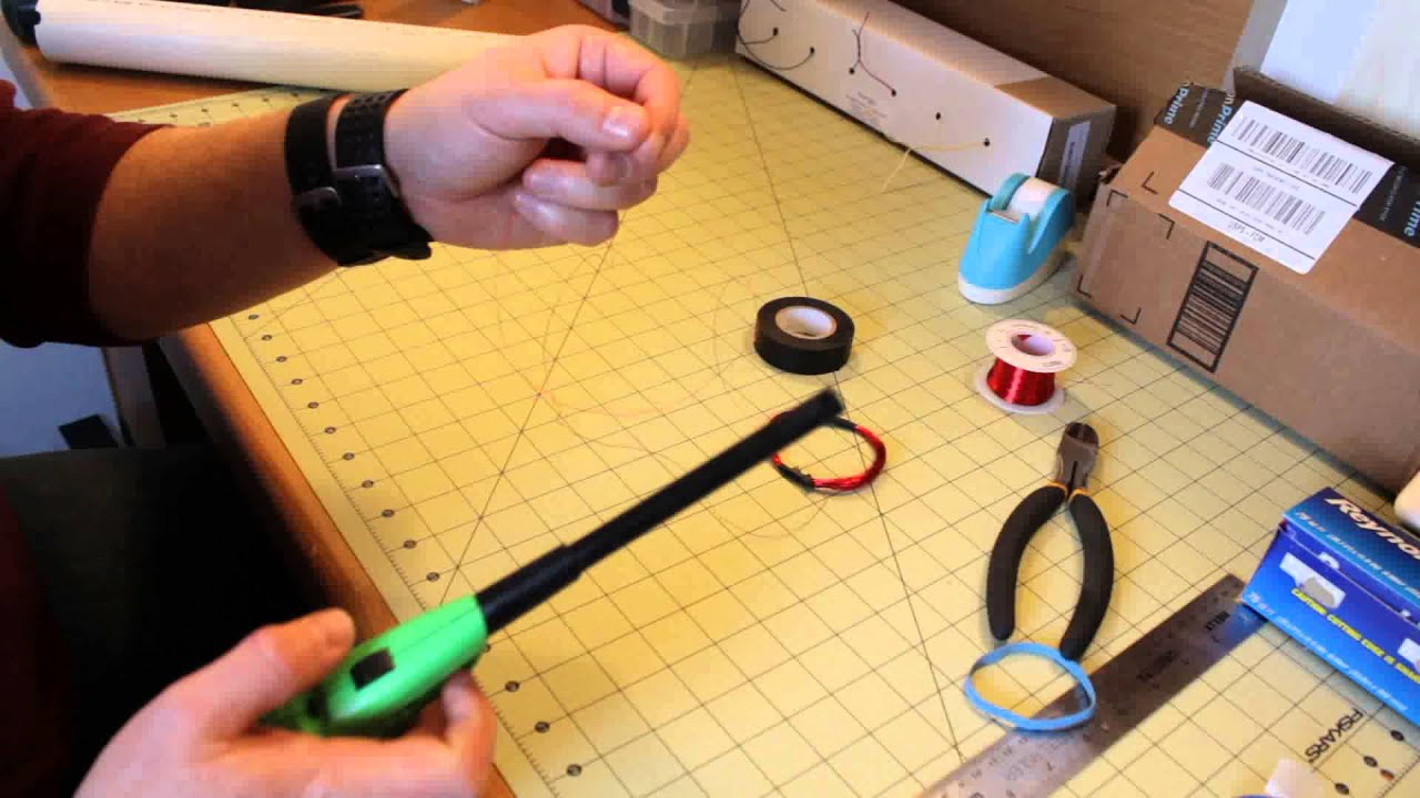 Making an RFID Antenna for the ID-3LA Reader