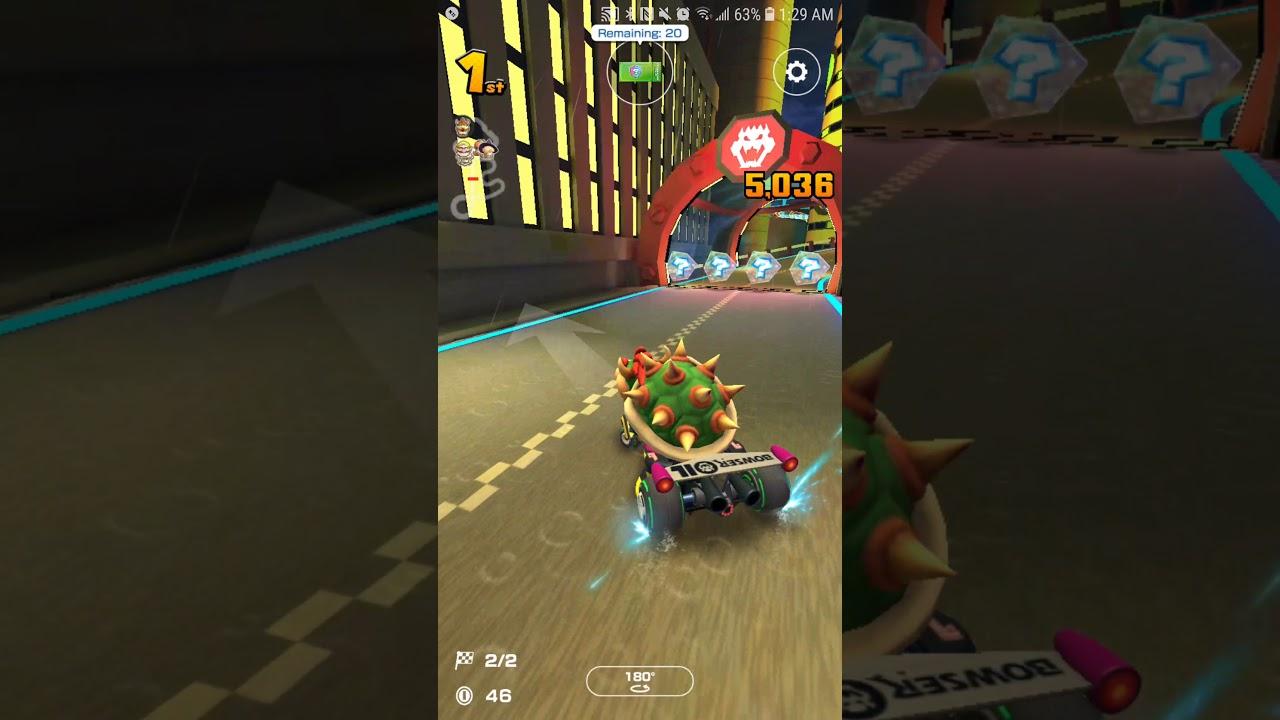 Mario Kart Tour Neo Bowser City Super Helpful Secret Shortcut