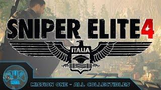 Sniper Elite 4 - All Collectibles - Mission 1: San Celini Island
