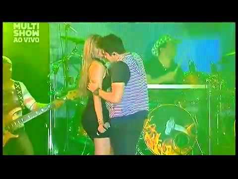 Luan Santana Selinho Com a Marla no Festival pop Sertanejo
