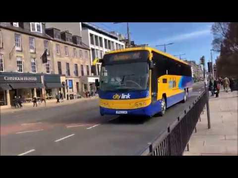 Edinburgh Buses |Princes Street And Stenhouse, Edinburgh, Scotland