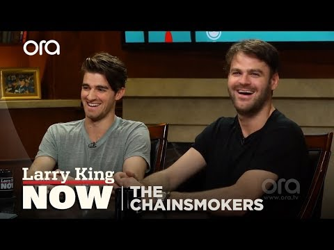 The Chainsmokers x Larry King: Rapid Fire QandA | Larry King Now | Ora.TV