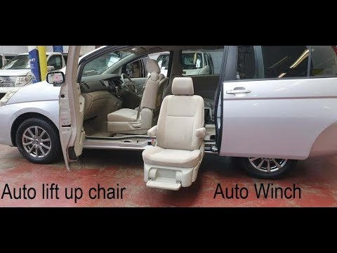 Toyota Isis Auto Lift Up Chair 4wd @japcarfinder.co.uk