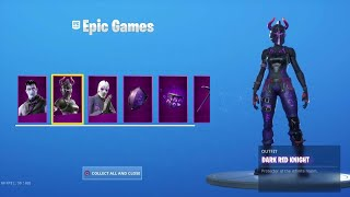 The New DARK REFLECTIONS Pack in Fortnite..