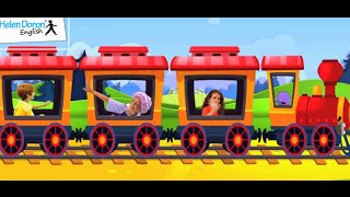 Choo Choo - English Song for Children with Lyrics