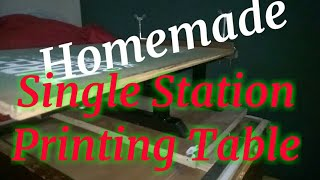 Baixar Silkscreen Printing :DIY single station printing table