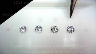 Diamond alternatives by comparison