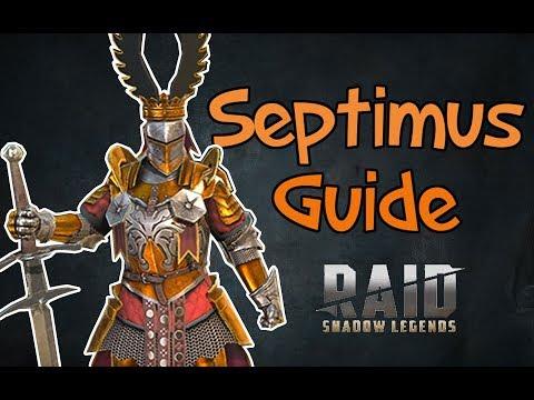 Septimus Guide Raid Shadow Legends